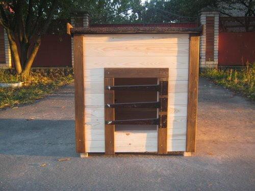 Заслонка | Решетка на вход в будку