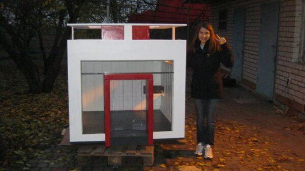 Эксклюзивная будка для собаки