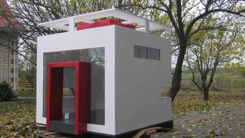 кубикс - экслклюзивная будка для собаки
