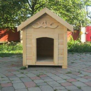МУХТАР | L | Вагонка | Будка для собаки