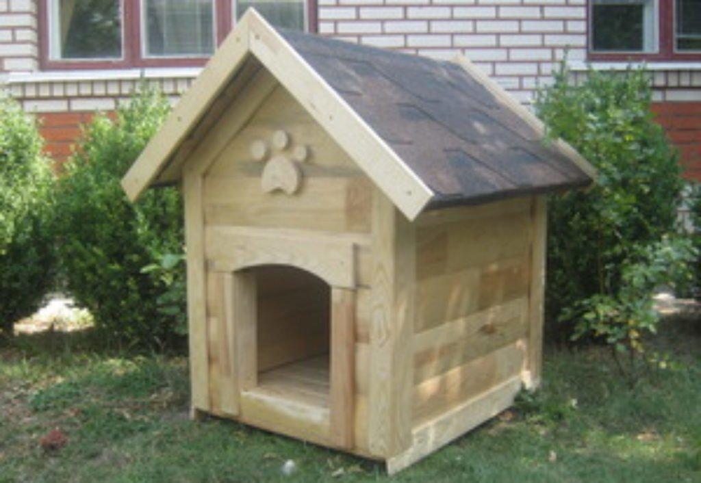 Будка для собаки домиком
