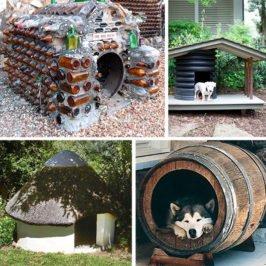 материалы будки для собаки