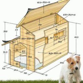 Как построить будку схема