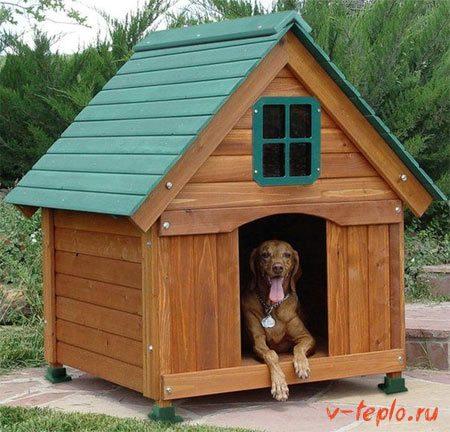 Утепление будки для собаки