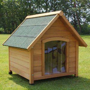 Собача будка зі шторкою | Фото