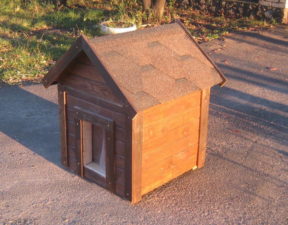 Мухтар | S | Утепленная | Съемная крыша | Крышка | Шторка