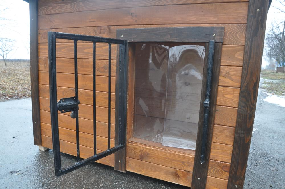 Решетка на вход в будку