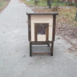 Подставка для будки для кота