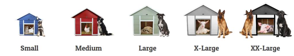 Размер будки для собаки